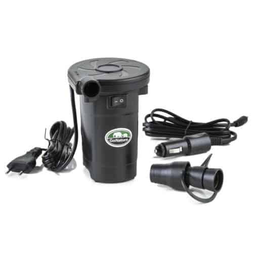 go nature car 12V and home 220V electric pump