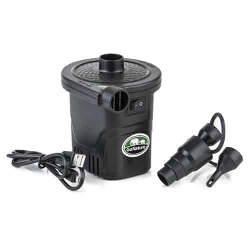 go nature rechargeable and charging electric pump